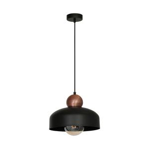 Závěsná lampa Harald Black 1x27 small 0