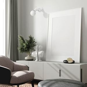 Nástěnné svítidlo Auris White 1x E14 small 1