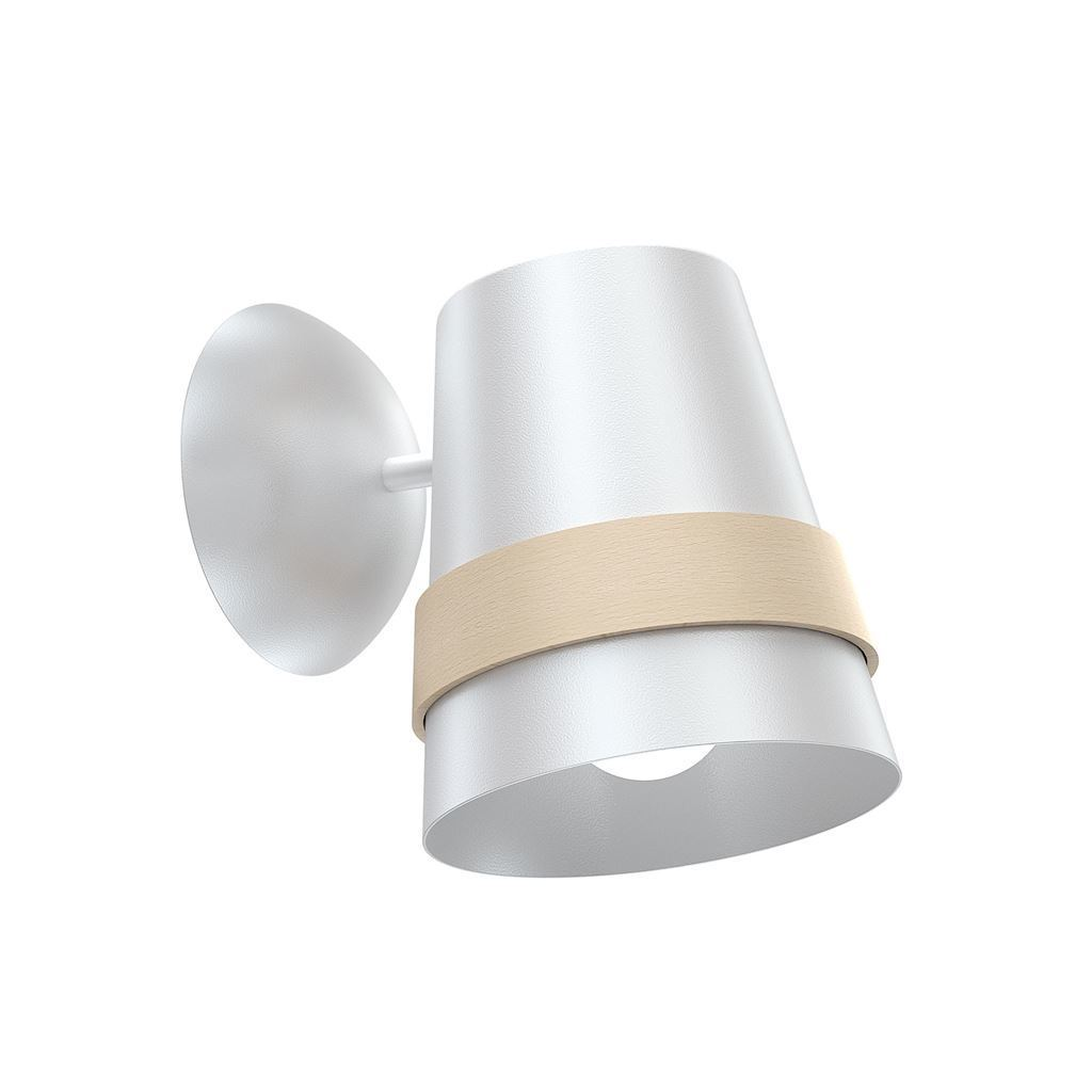 Venezia White 1x E27 nástěnná lampa