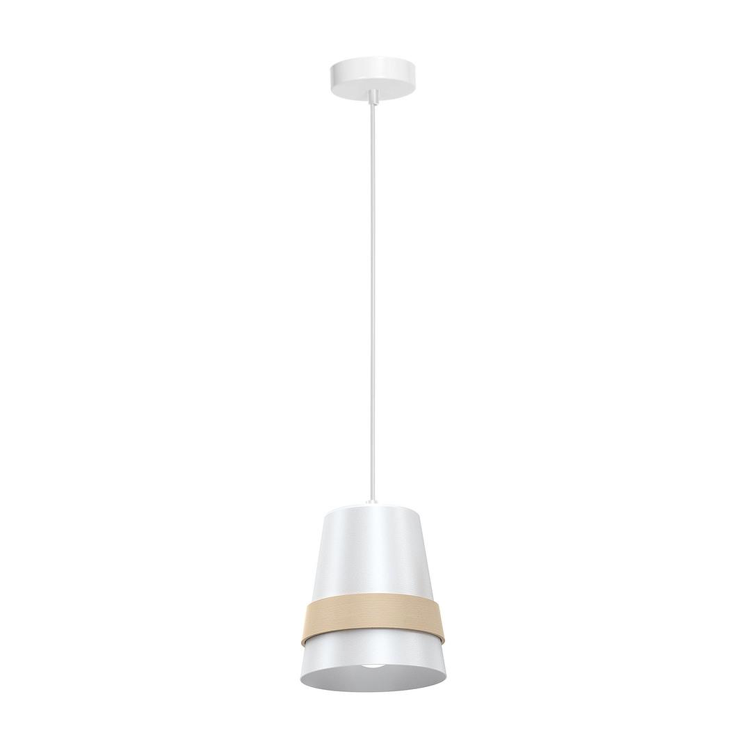 Závěsná lampa Venezia White 1x E27