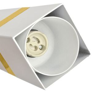 Závěsná lampa Vidar bílá / zlatá 3x Gu10 small 2