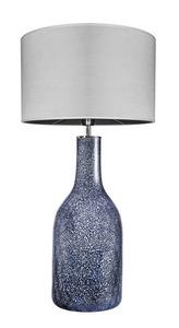 Dekorativní stolní lampa Famlight Alor Black Sky Matt grey E27 60W ručně vyráběná small 0