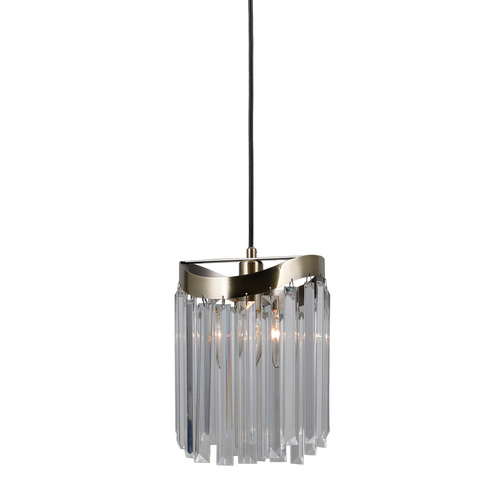 Závěsná lampa Brown Sabrig E14