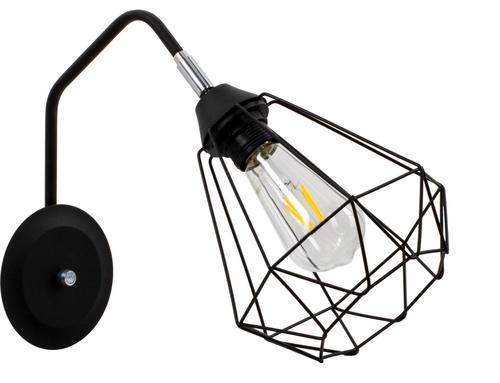 Designérská nástěnná lampa Lofta
