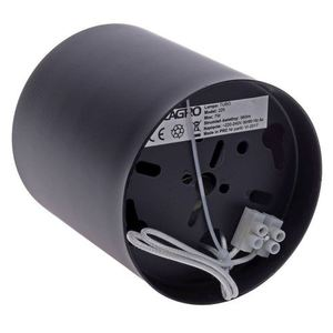 Stropní lampa Tubo Black 1 X7 W Led Gu10 small 4
