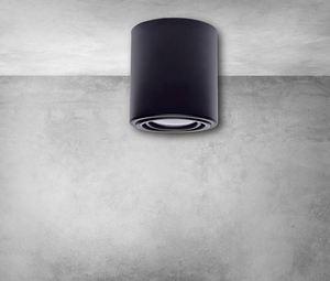 Stropní lampa Tubo Black 1 X7 W Led Gu10 small 6