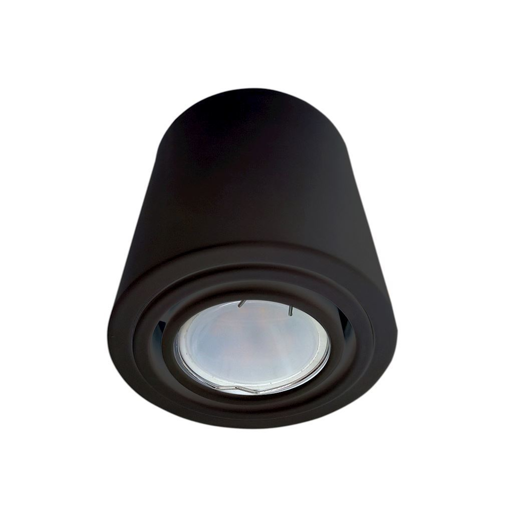 Stropní lampa Tubo Black 1 X7 W Led Gu10