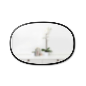 UMBRA závěsné zrcadlo HUB OVAL 24x36 - černé small 2