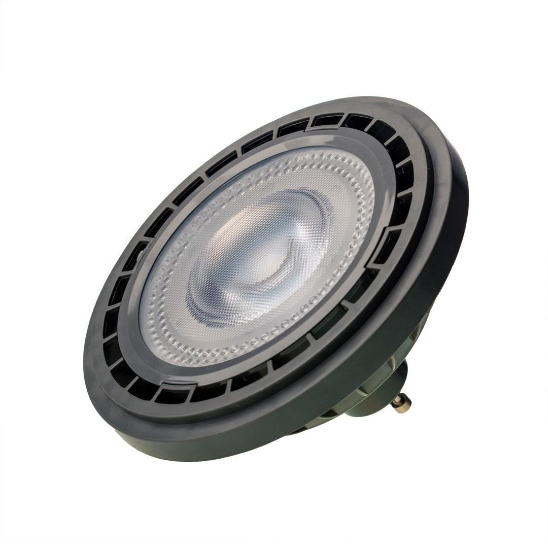 Žárovka Ar111 10 W Gu10 4000 K / šedá