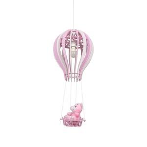 Balíček závěsná lampa růžová 1x E27 60 W small 2