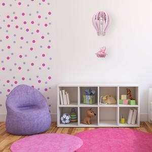 Balíček závěsná lampa růžová 1x E27 60 W small 5