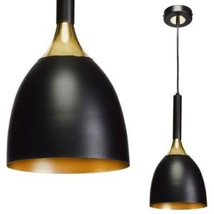 Závěsná lampa Clark bílá / zlatá 1x E27 small 0