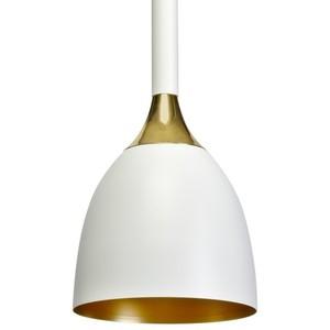 Závěsná lampa Clark černá / zlatá 1x E27 small 4