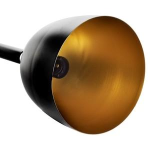 Závěsná lampa Clark Black / Gold 3x E27 small 2