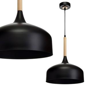 Závěsná lampa Taylor Black 1x E27 60 W small 0