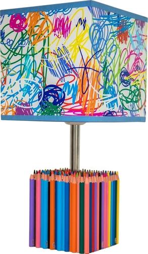 Dětská stolní lampa Barevné pastelky