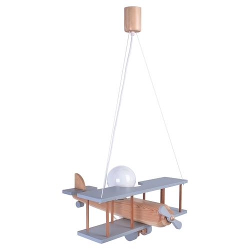 Závěsná lampa pro dítě. Velké letadlo 104.11.40