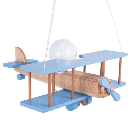Závěsná lampa pro děti. Velké letadlo 104.11.41