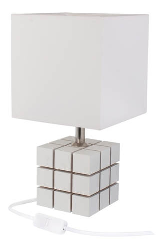 Rubi lampa bílá 411.34.09