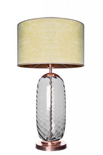 Desinger stolní lampa Chloe Lister Grey OLIVE E27 60W ručně vyráběná