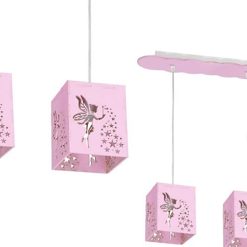 Závěsná lampa Fairy Pink 3x E27 60 W