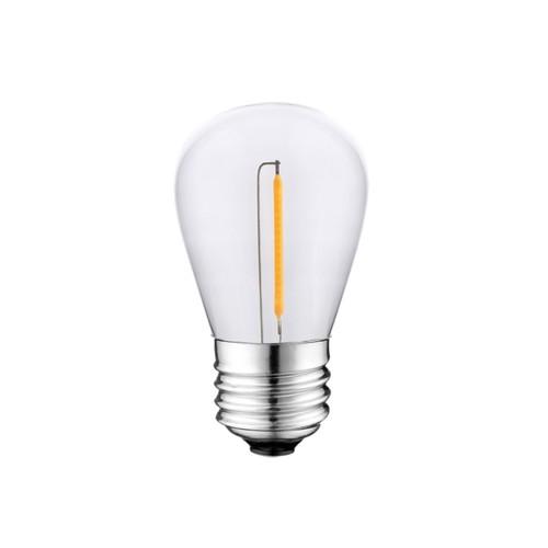 0,5W LED žárovka s vlákny St45 E27 2700K