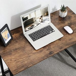 Rustikální hnědý počítačový stůl LWD40X small 5