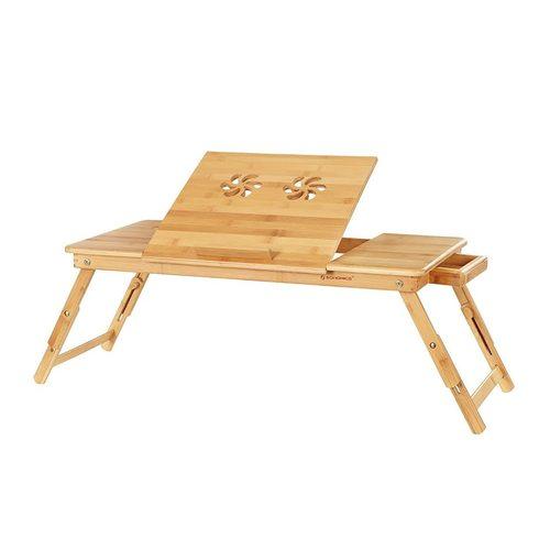 LLD004 bambusový stolek na notebook