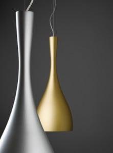Závěsná lampa Vibia Jazz 1336 zlatá barva small 0