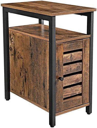 Noční stolek / rustikální hnědý LET61BX