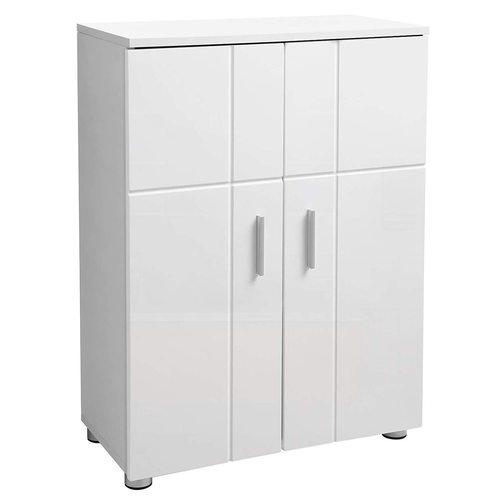 BBK42WT Bílá koupelnová skříňka