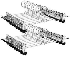 Sada 20 kovových ramínek na kalhoty CRI003-20