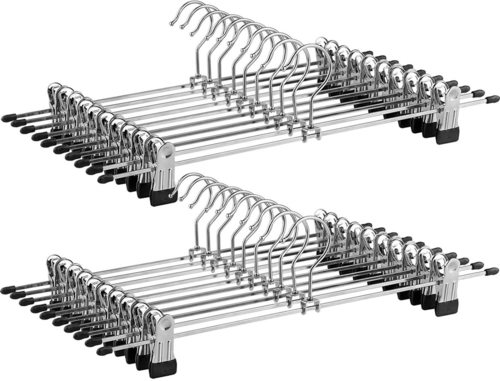 Sada 20 kovových věšáků CRI006-20