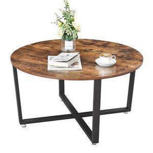 Kulatý stůl Kávový dub Rustikální LCT88X small 2