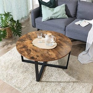 Kulatý stůl Kávový dub Rustikální LCT88X small 3