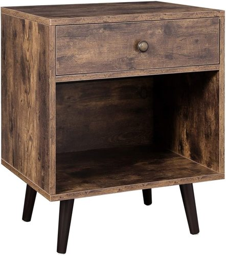 LET71BX VASAGLE retro loftový noční stolek