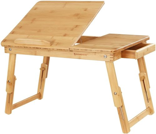Multifunkční skládací stolek na notebook LLD01N Songmics