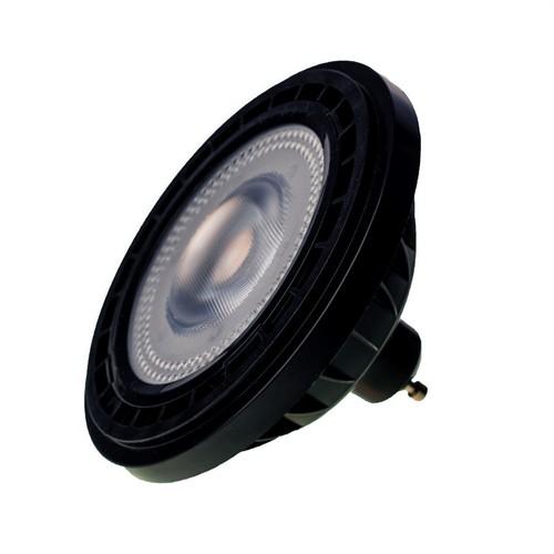 Ar111 6W Gu10 4000K / černá žárovka