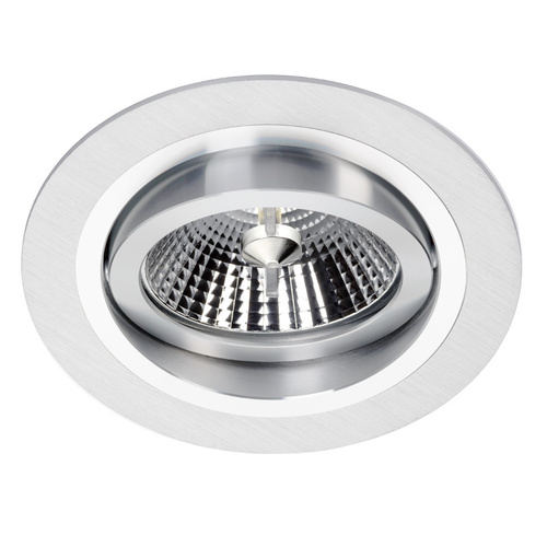 Stříbrné svítidlo Alcazar Silver s chromem 140.SC