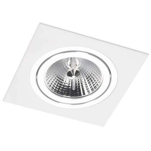 Alcazar White Square Spot s chromem 141.WC