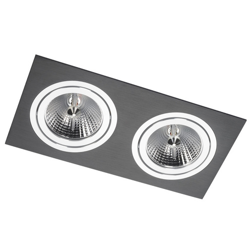 Dual Alcazar Black Downlight s Chrome 142.BC