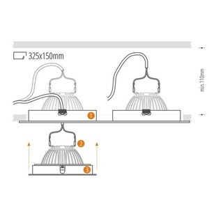 Dual Alcazar Black Downlight s Chrome 142.BC small 4