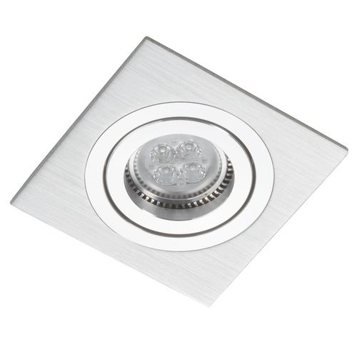 Stříbrný čtverec Spot Alcazar 541.SC