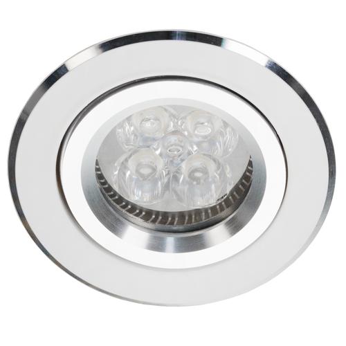 Bílé sklopné downlight s Alcoy 540.WC chrom