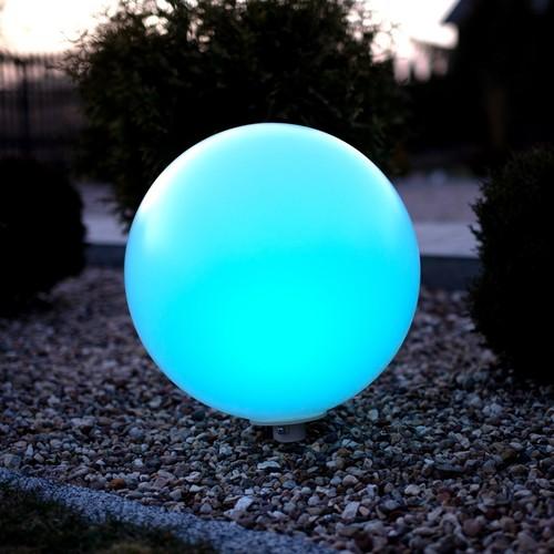 Zahradní míč Fi50 9 W Rgb
