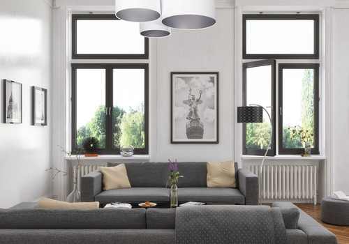 Strop pro obývací pokoj Elements 60W E27 bílá / stříbrná ruční práce