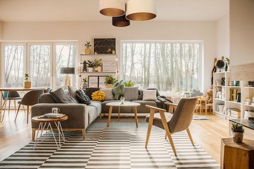 Stropní svítidla pro obývací pokoj, stropní Elements 60W E27 béžová / krémová / hnědá, zlatá