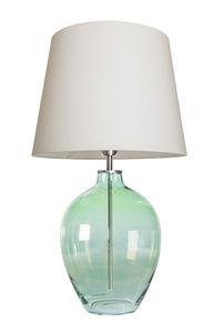 Ručně vyrobená lampa Luzon Olive Famlight krémová / bílá E27 60W small 0