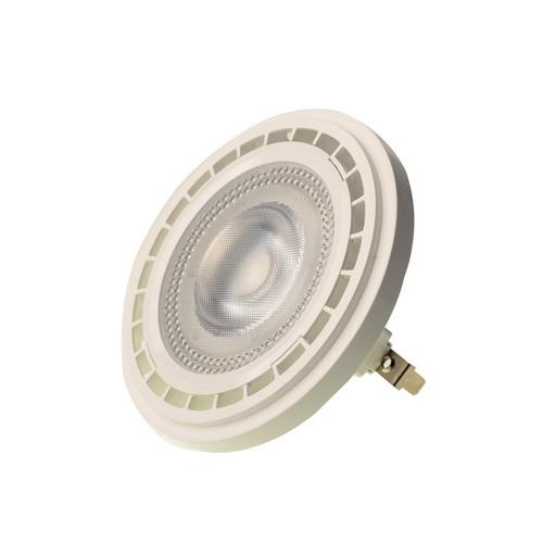 Žárovka Ar111 10 W G53 3000 K / bílá