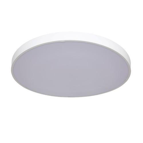 Velké bílé stropní svítidlo Rapido